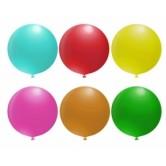 1li 45 inç Pastel Renk Dekorasyon Balon