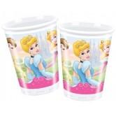 10 Adet 180/200cc Prenses Fairytale Plastik Bardak