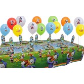 10 Kişilik Mickey Renkler Mini Set