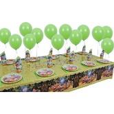 10 Kişilik Yedi Cüceler Ve Prenses Mini Set