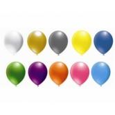 100lü 12 İnç Metalik Renk Latex Balon