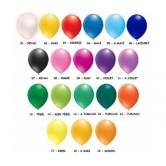 100lü 6 inç Pastel Renk Dekorasyon Balon