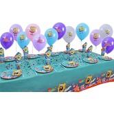 10 Kişilik Sponge Bob Mini Set