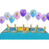 10 Kişilik Sponge Bob Party Ekonomik Set