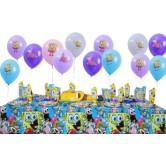 10 Kişilik Sponge Bob Party Mini Set
