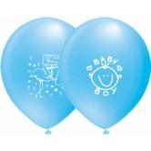 12 İnç It's A Boy Çift Yüz Baskılı Balon