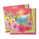 16 Adet 33X33 Santim Luau Party Kağıt Peçete
