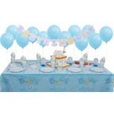 16 Kişilik Baby Shower Blue Süper Set