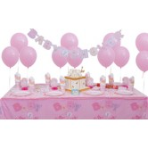 16 Kişilik Baby Shower Pink Süper Parti Seti
