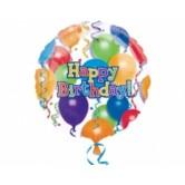 18 İnç Birthday Balloons N Star Folyo Balon