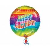 18 inc Flashback Birthday Folyo Balon