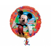 18 İnç Mickey Club House Birthday Folyo Balon