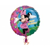 18 İnç Minnie Birthday Balon