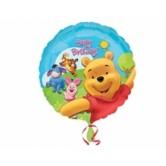 18 İnç Winnie The Pooh Ve Arkadaşları Sunny Birthday Folyo Balon