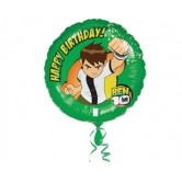 18 inç Ben 10 Happy Birthday Folyo Balon