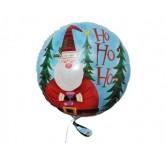 18 inç Noel Baba Paketli Folyo Balon