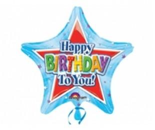 19 İnç Shining Birthday Folyo Balon