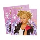 20 Adet 33X33 Santim Hannah Montana Backstage Kağıt Peçete