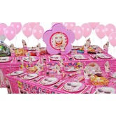 20 Kişilik Barbie Lüks Set