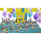 20 Kişilik Sponge Bob Lüks Set