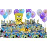 20 Kişilik Sponge Bob Party Lüks Set