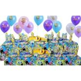 20 Kişilik Sponge Bob Party Süper Set