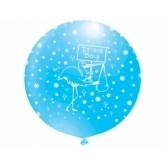 27 İnç Jumbo It's A Boy Çepeçevre Baskılı Balon