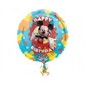 28 inç Mickey Club House Birthday Müzikli Folyo Balon