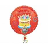 38 İnç Müzikli Birthday Folyo Balon