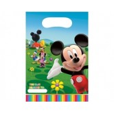 6 Adet Mickey Renkler Parti Çantası
