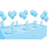 8 Kişilik Açık Mavi Pastel Mini Set