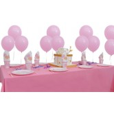 8 Kişilik Baby Shower Pink Mini Parti Seti