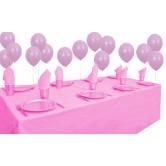 8 Kişilik Pastel Pembe Mini Set