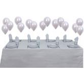 8 Kişilik Silver Mini Set