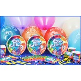 8 Kişilik 60 Yaş Brilliant Birthday Mini Set