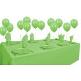 8 Kişilik Açık Yeşil Pastel Mini Set