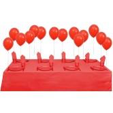 8 Kişilik Pastel Kırmızı Mini Set