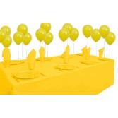 8 Kişilik Sarı Pastel Mini Set