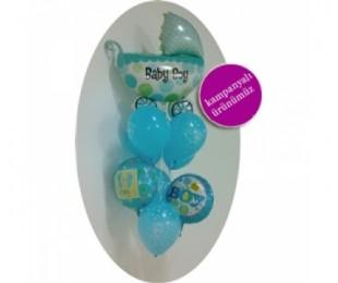 It's A Boy Uçan Balon Demeti 2