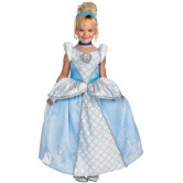 Lüks Cinderella Kız Kostümü