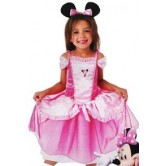 Lüks Minnie Pembe Kostüm
