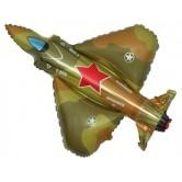 Savaş Uçağı Supershape Folyo Balon