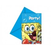 Sponge Bob Party Davetiye