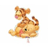 SuperShape Baby Tiger Ve Pooh Folyo Balon
