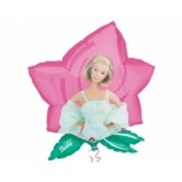 Super Shape Barbie Dreamtime Flower Folyo Balon