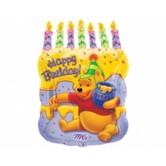 SuperShape Winnie The Pooh Doğum Günü Pastası Balon